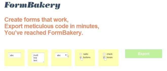 FormBakery