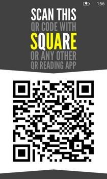 Square QR Code