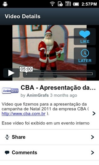 Vimeo-Android-Video