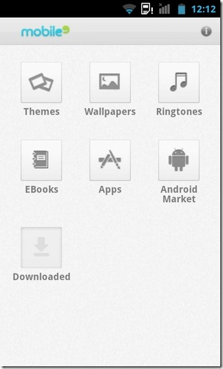 mobile9-Market -Android-Home