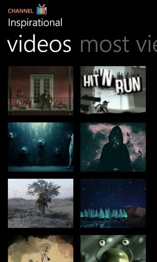 Vimeo WP7 Channel