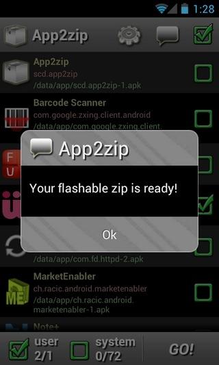 App2zip-Android-Success