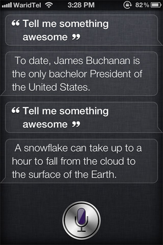 Awesome-facts-for-Siri-Chatbot-Cydia-Tweak