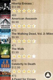 Book Wall List