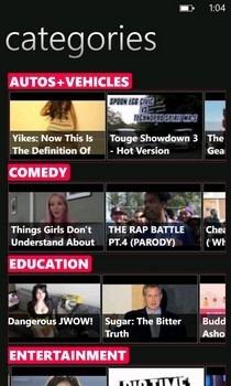 PrimeTube Categories