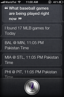 SiriSports Siri Fixtures