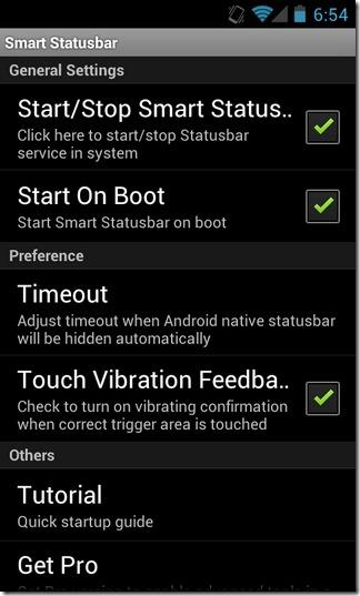 Smart-Statusbar-Android-Main-Interface