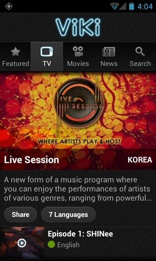 Viki-Android-TV-Show