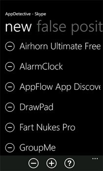AppDetective New Apps WP7