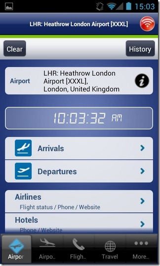 Webport-Android-Airport-Status