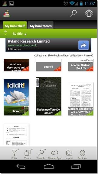 Mantano-Reader-Android-Library
