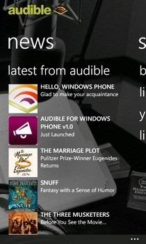 Audible WP7 News