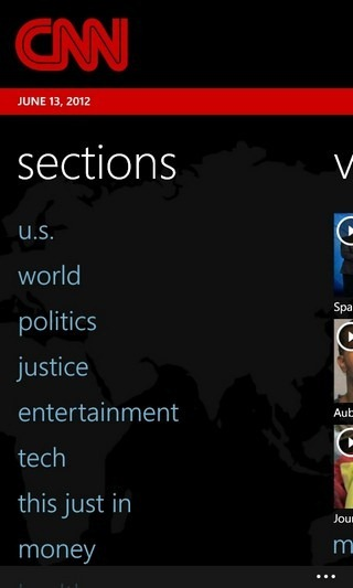 CNN WP7 Sections