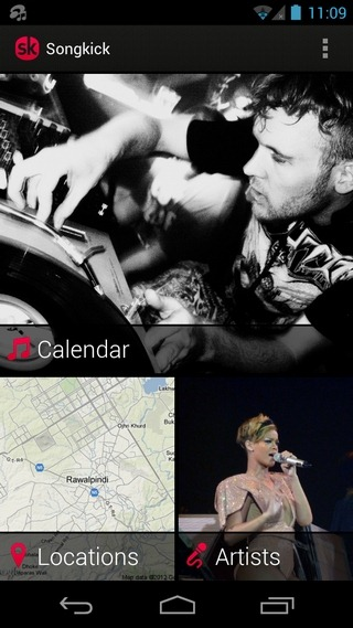 Songkick-Concerts-Android-Home