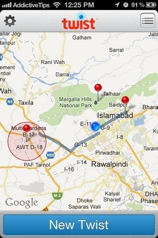 Twist Map