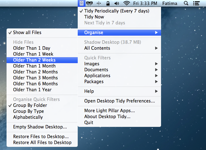 Desktop Tidy