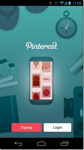 Pinterest-Android-iPad-Login