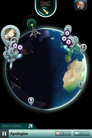 Sing! iOS Map