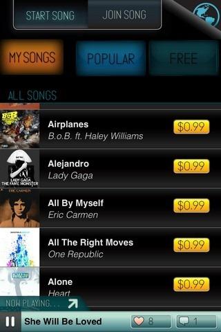 Sing! iOS Songs