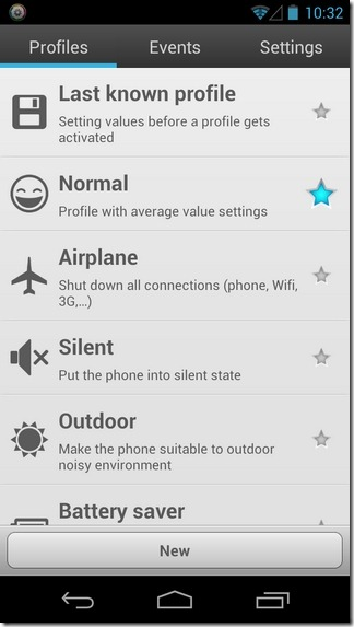 Smart-Settings-Android-Profiles