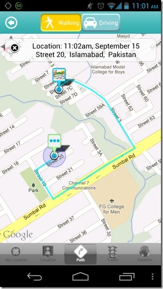 AireTalk-Android-Navigation