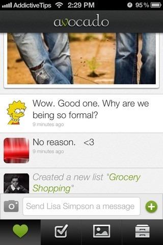 Avocado iOS Feed