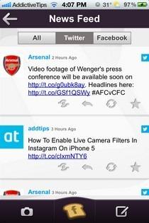 FlipToast iOS News Feed