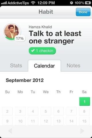 Lift iOS Calendar