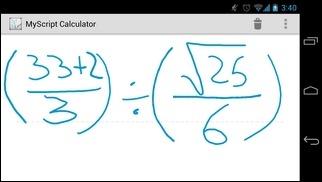 MyScript-Calculator-Android-Test3