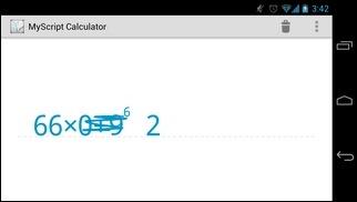 MyScript-Calculator-Android-Test4