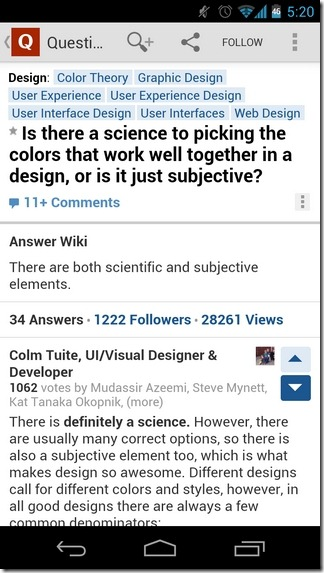 Quora-Android-Question