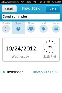 24me iOS Reminder