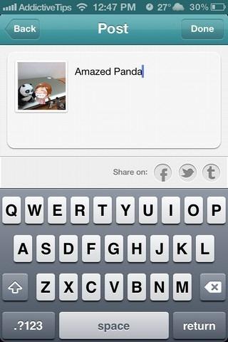 PhotoWithMe iOS Post