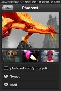 Photoset iOS Share