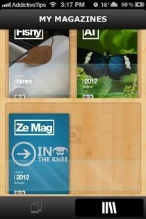 beamr iOS Shelf