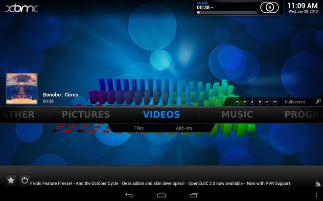 XBMC-12-Frodo-Android-Home