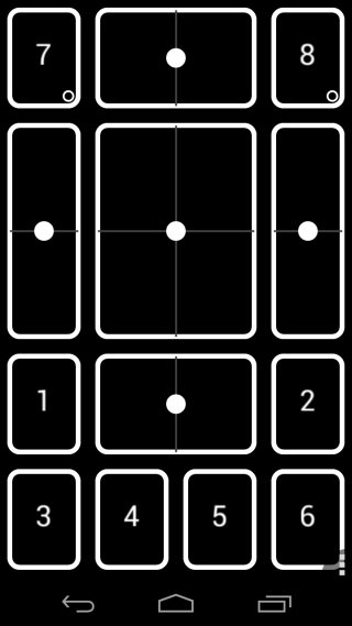 DroidPad Joystick Layout 8