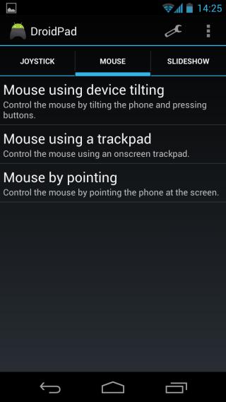 DroidPad Mouse