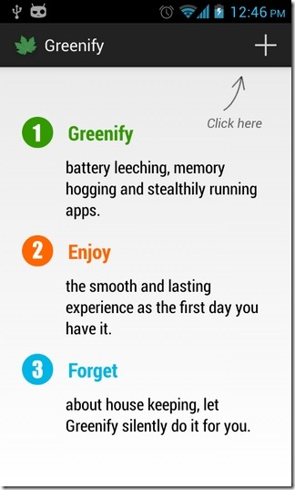 Greenify-Android-Start