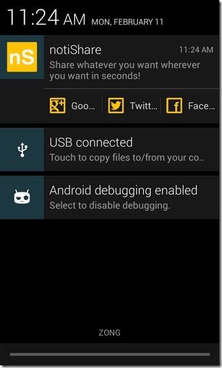 notiShare-Android-Sample1