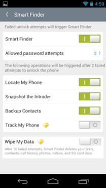 NQ Mobile Easy Finder Beta-6