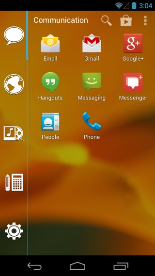 Smart Launcher Special_App Drawer