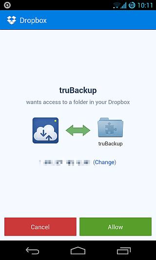 truBackup-Dropbox-Link