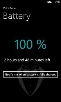 Voice Butler WP8 Battery