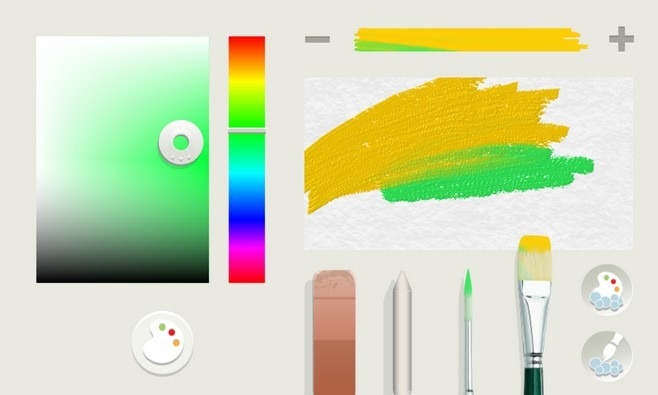 FreshPaint WP8 Palette