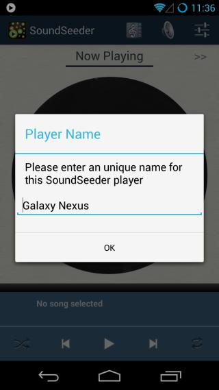 SoundSeeder Music Player_Device