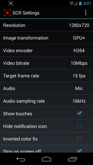 SCR Screen Recorder 4