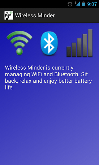 Wireless Minder for Android 1