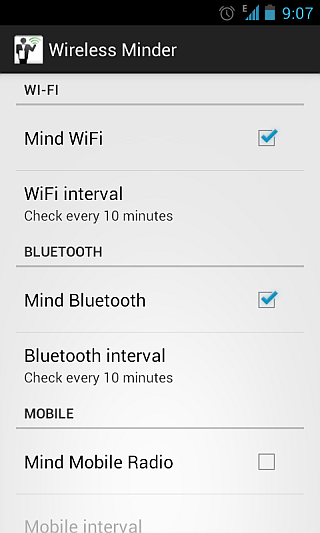 Wireless Minder for Android 3