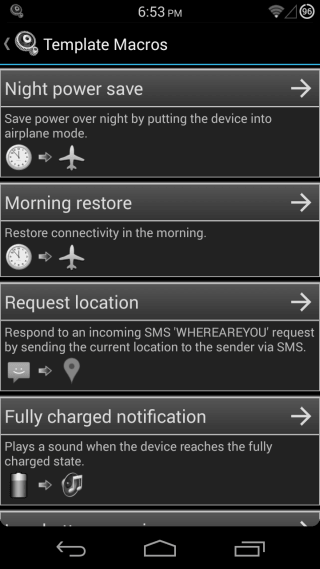MacroDroid Device Automation for Android 02